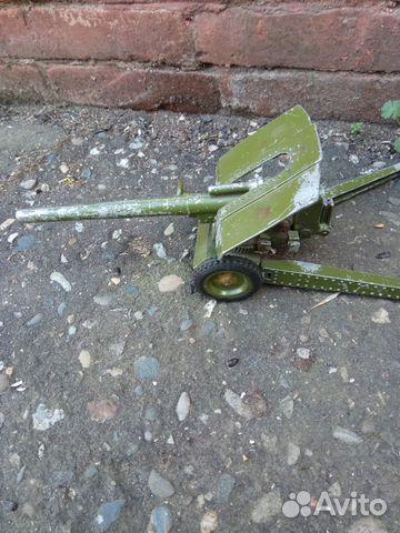 Пушка СССР металл