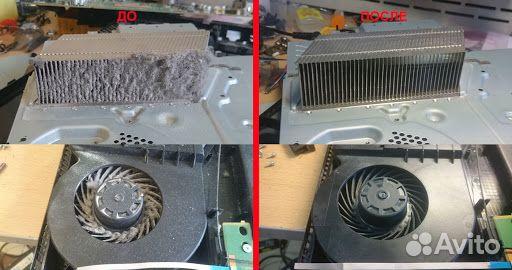 Чистка профилактика ремонт Sony Playstation PS4 89201399909 купить 4