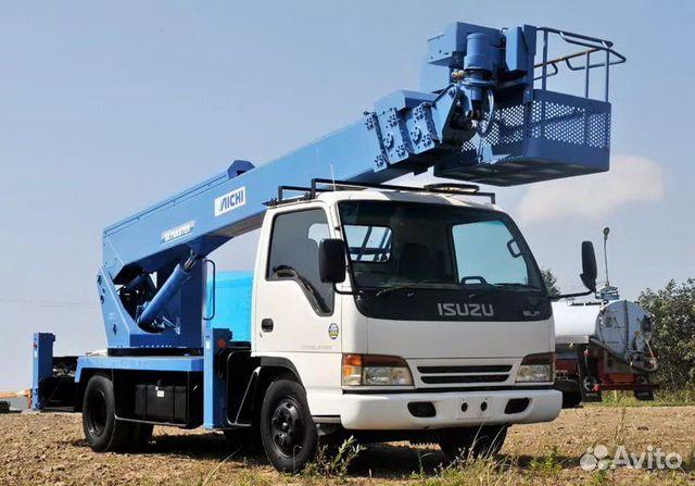 Услуги японской автовышки 23 метра