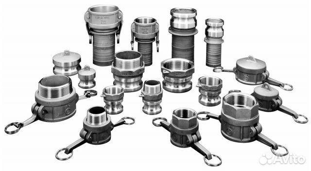 Соединения быстроразъемные (брс) camlock И elaflex