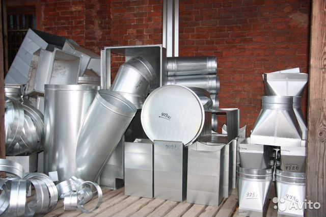 Set of machines for ventilation 2000 mm