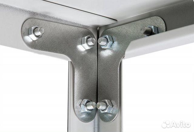 Новые металлические стеллажи с нагрузкой до 500 кг 89324784222 купить 5