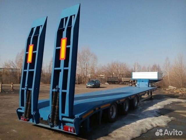 Трал 40 тонн низкорамный