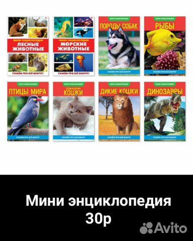 Мини энциклопедии 89536935316 купить 1