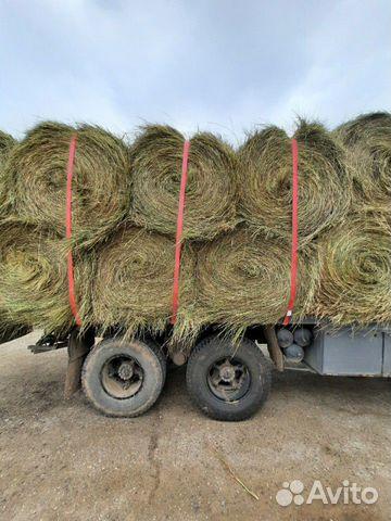 Рулоны 2020 сено луговое и доставка купить 1