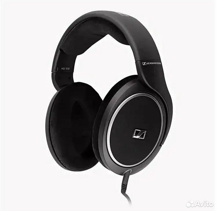 Проводные наушники Sennheiser HD 558 черный  89049949026 купить 1