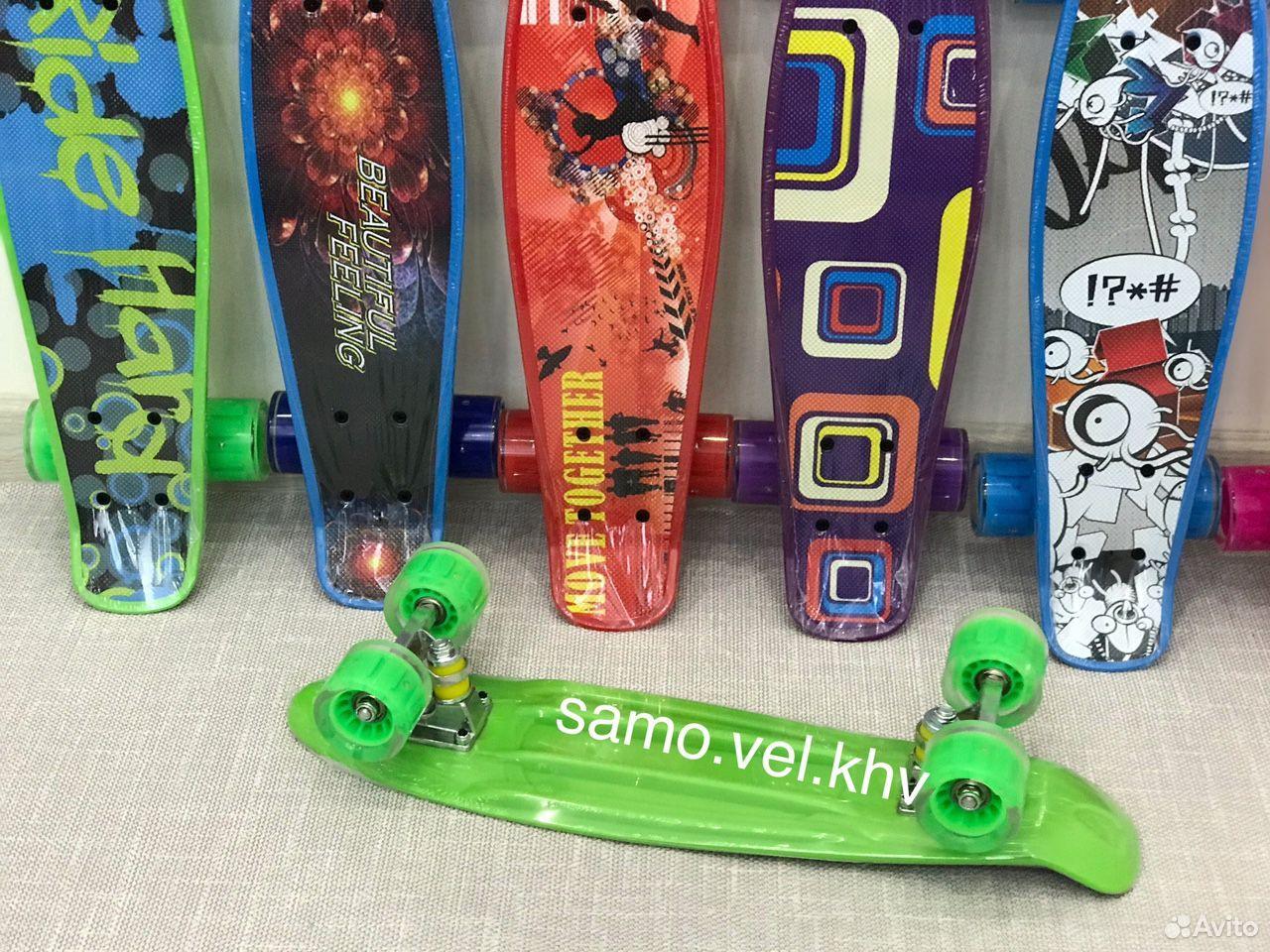 Скейтборд пенниборд новый  89242131563 купить 3