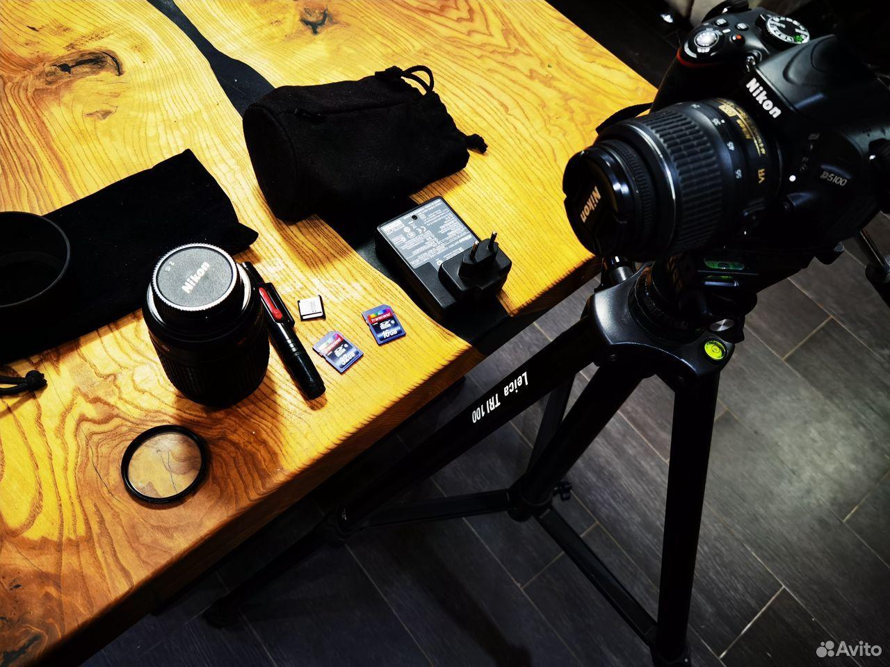 Зеркальный фотоаппарат Nikon D5100 Dauble VR Обмен  89185656006 купить 7