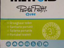 Новый портативный биотуалет Porta Potti Qube 145