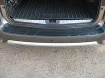 Накладка на задний бампер Nissan Terrano 3 с 2014