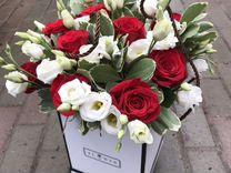 Цветы в коробках Пермь. Трэнд 2018 - 2019 года