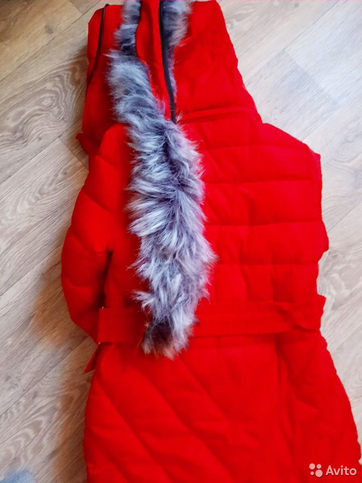 Куртка зимняя 8-9 лет