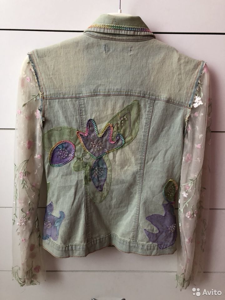 Куртка - джинсовка  89002020556 купить 2