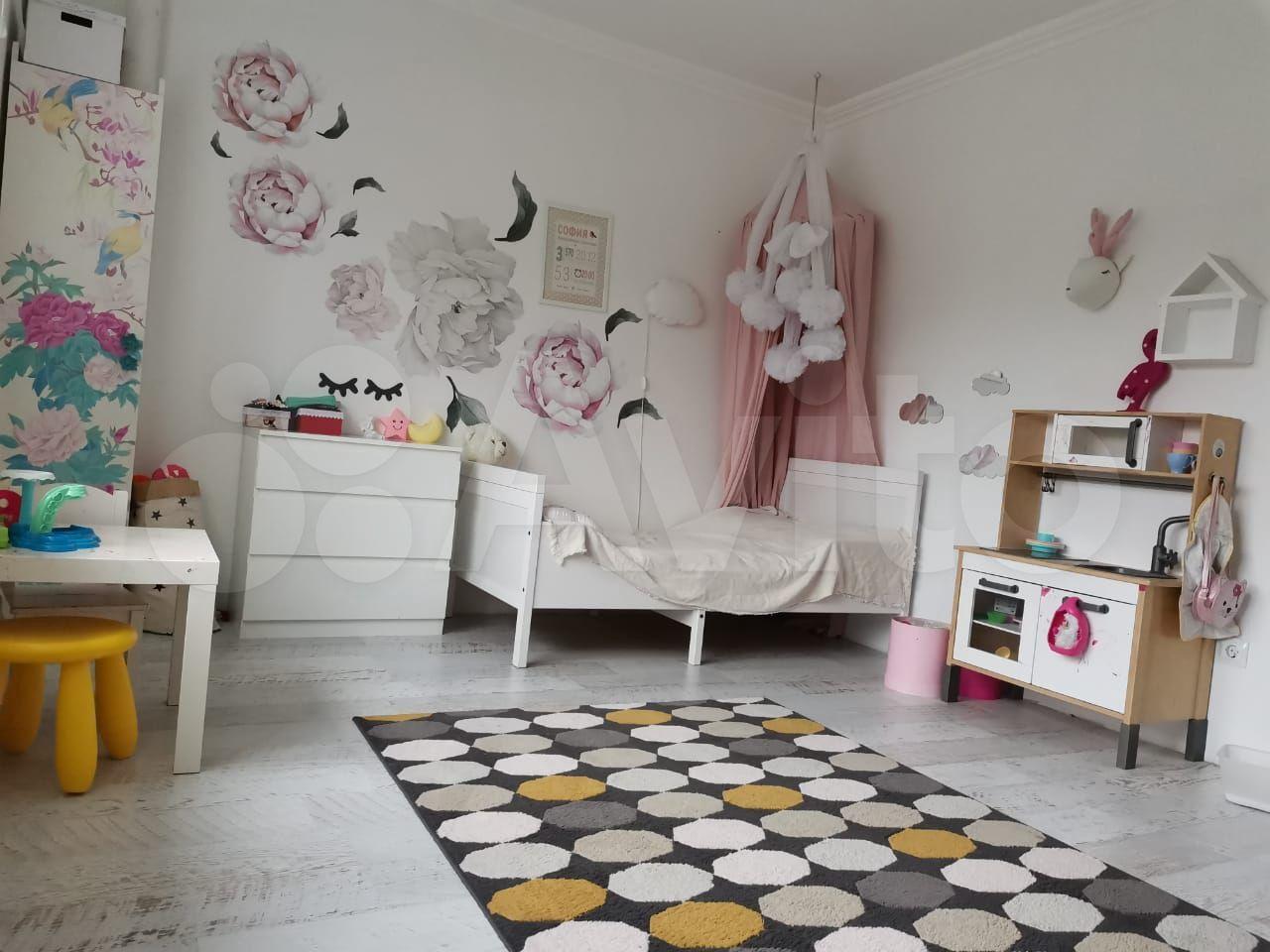 3-room apartment, 80 m2, 2/9 et.