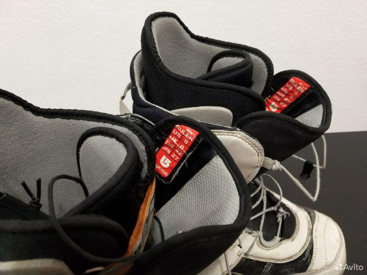 Сноубордические ботинки burton ruler 42 размер  89655330861 купить 2