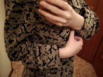Новое пальто макси миди 42 44