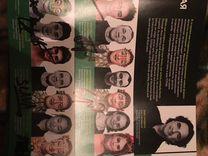 Подписанный журнал Cirque Du soleil