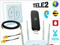 Билайн МТС Мегафон модемы работают любыми SIM карт