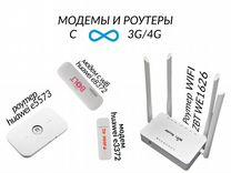 Модемы 4G, роутеры. Готовые комплекты Huawei