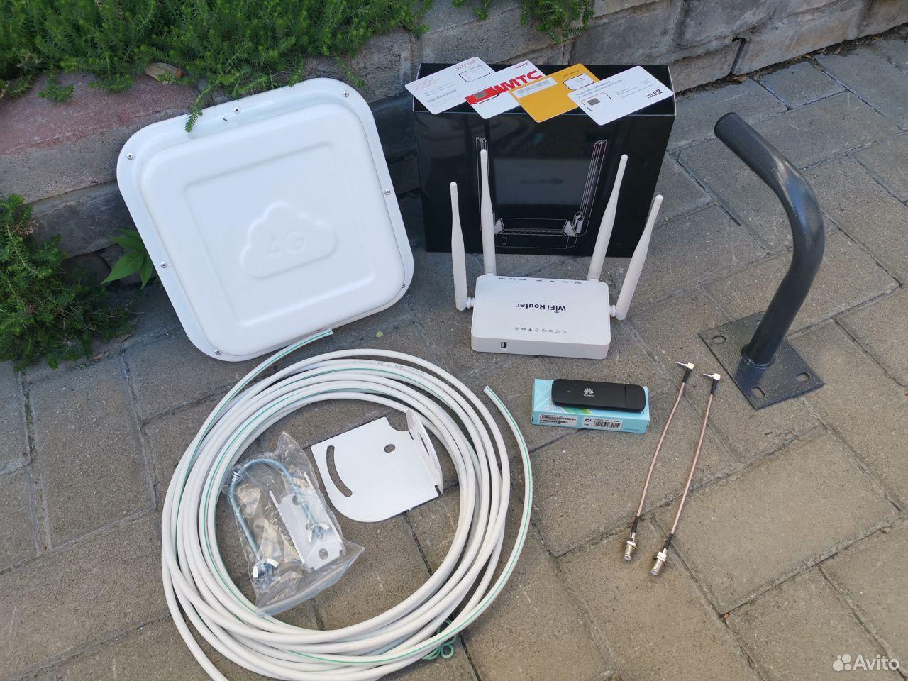 4G модем + WiFi Роутер + Антенна - Комплект XM-160