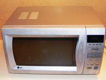 LG MC-7642ES, конвекция, нержавейка, 900 ватт