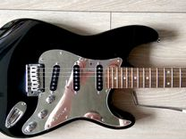 Squier Standard Stratocaster Black Chrome