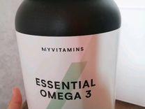 Годовой запас Омеги 3 от Myprotein