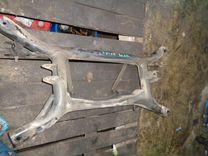 Lancer x подрамник задний балка