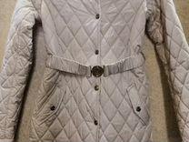 Пальто демисезонное на девочку, фирма Silver spoon