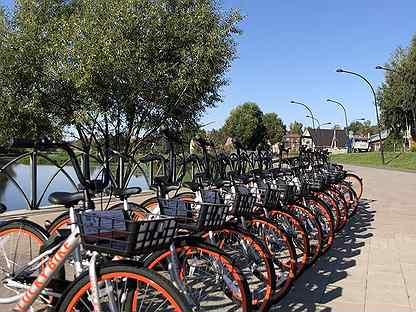 Велосипеды для велошеринга