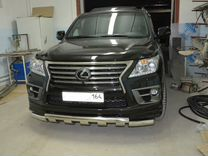 Защита бампера Lexus LX 570