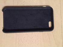 Силиконовый Чехол iPhone 6/6S темно-синий цвет