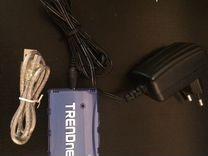 USB hub на 7 портов с доп.питанием trendnet tu2-70