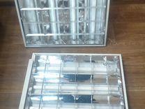 Светильники люминесцентные потолочные 600х600