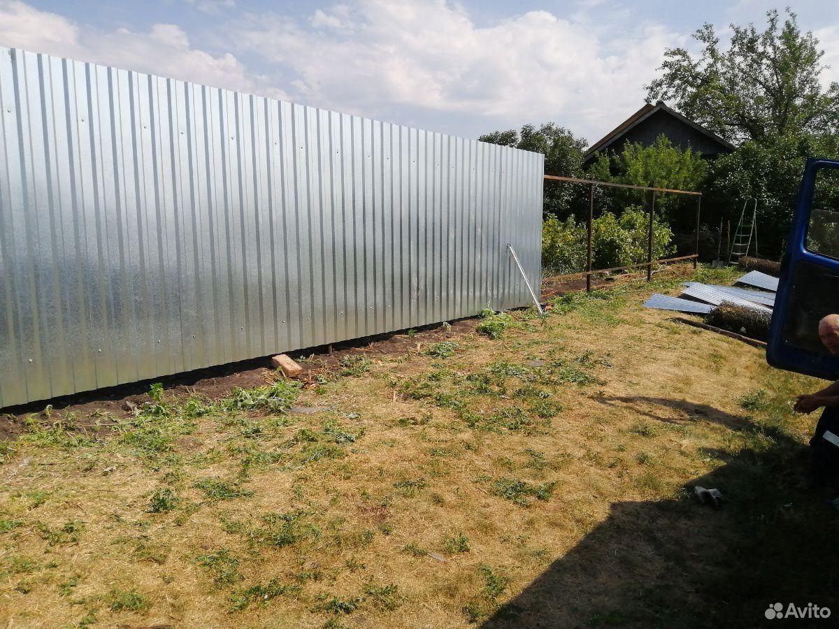 Сделаем забор, ворота из профнастила  89088373003 купить 5