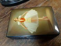 Лаковая шкатулка балерина палех — Коллекционирование в Екатеринбурге