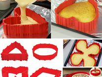 Силиконовая форма для выпечки Bake Snake