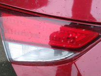 Крышка багажника в сборе красная Elantra 2011-2016