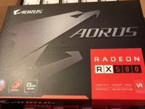 Видеокарта gigabyte Radeon RX 580 8gb