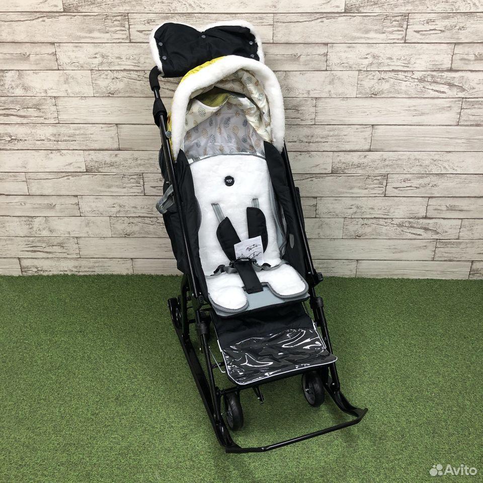Санки-коляска Nika kids 7-5, цвета микс  89225759000 купить 5