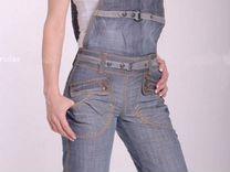 Новые джинсовые комбинезоны, размеры с 26 по 29