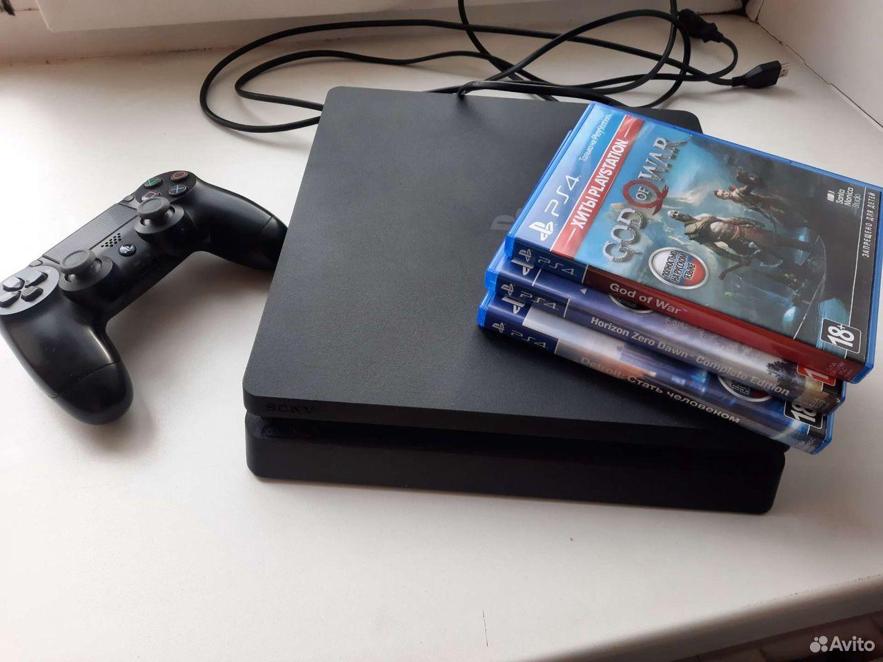 Sony PS4 slim 1 Tb + игры  89212913086 купить 1