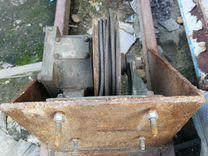 Тельфер лебедка редуктор для двигателя