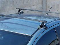 Багажник на крышу Hyundai Solaris / Хендай Солярис