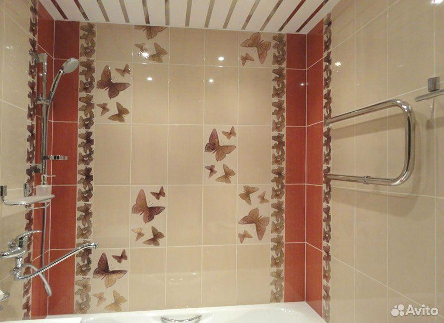 Плиточные работы:Ремонт ванной под ключ  89091220404 купить 5