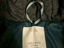 Zara парка осень/весна утепленная, непромокаемая
