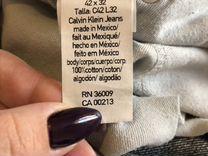 Джинсы Calvin Klein W42 L32