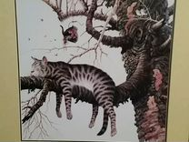 Картина Спящий кот