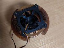 Кулер для процессора S775 медный с турбиной