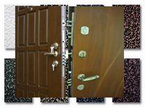 Для квартиры стальные двери с панелями мдф